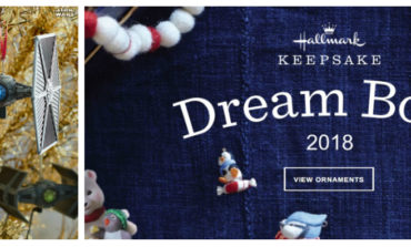 Hallmark's 2018 Dream Book Available Online; New Star Wars Keepsake Ornaments Revealed