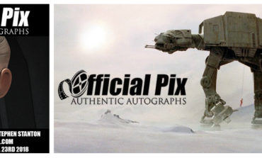 Official Pix Announces Private Signing with Stephen Stanton to Benefit Starlight Children's Foundation