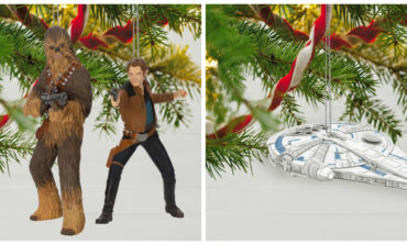 Hallmark's 2018 Dream Book Adds 'Solo: A Star Wars Story' Ornaments, Plus BB-8 Exclusive