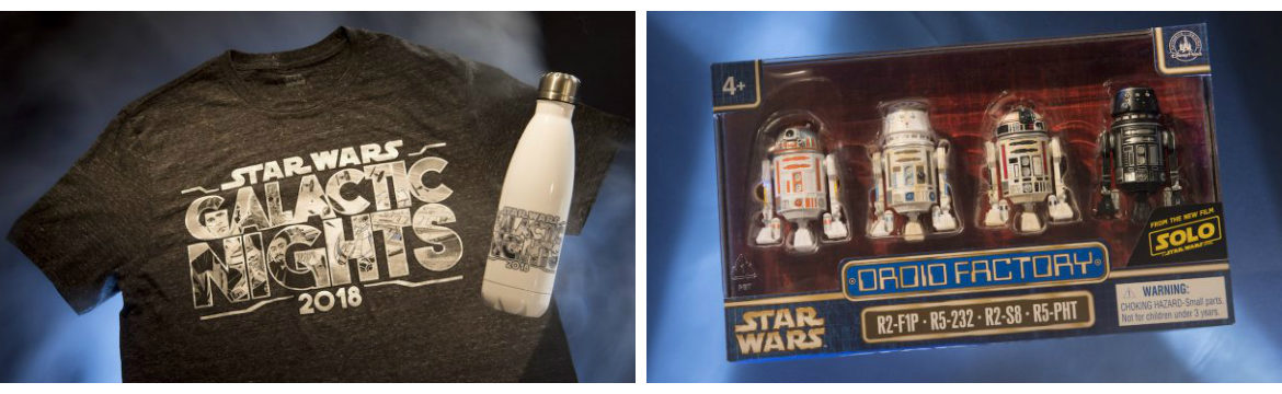 Star Wars Galactic Nights Exclusive Merchandise and Special Appearances Revealed
