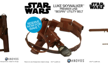 Star Wars Luke Skywalker Utility Belt Available Again from Anovos -- Limited 25-Unit Run!