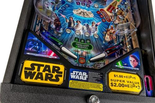 Star Wars Pinball Machine >> Check Out The Star Wars 40th Anniversary Pinball Machine From Stern