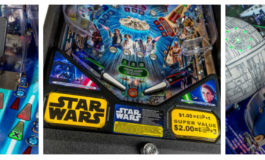 Check Out the Star Wars 40th Anniversary Pinball Machine from Stern Pinball, Inc.!