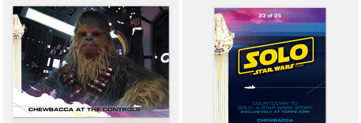 Topps Countdown to 'Solo: A Star Wars Story' Card 23 Now Available