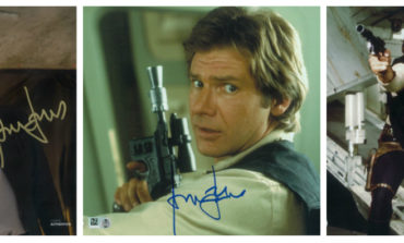 Flash Sale! Harrison Ford Autographs 10% off at Star Wars Authentics!