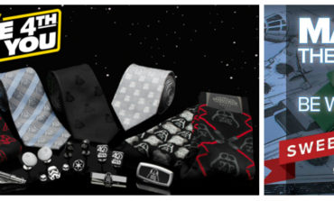 May the 4th Discounts! Get 30% Off Star Wars Products from Cufflinks.com