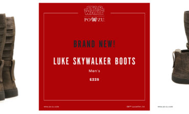 Star Wars and Po-Zu Footwear Announce Luke Skywalker Boots