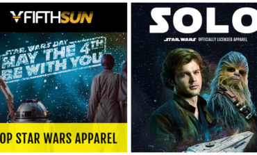Shop Star Wars Apparel from Fifth Sun and You Could Get a Free Gift!