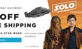 Celebrate 'Solo: A Star Wars Story' with 15% Off Your Order Plus Free Shipping from Hasbro Toy Shop