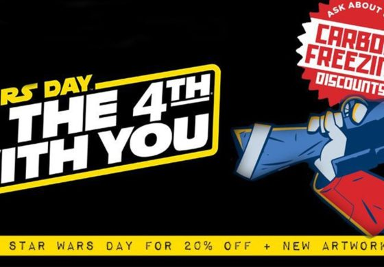 Site-Wide Dark Ink/Acme Archives Sale on all Star Wars Artwork, May the 4th Only!