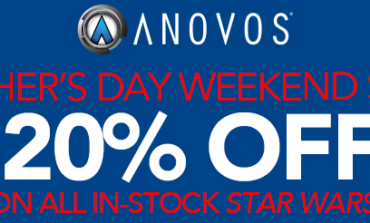 Father's Day Sale! 20% OFF All In-Stock STAR WARS Items from Anovos