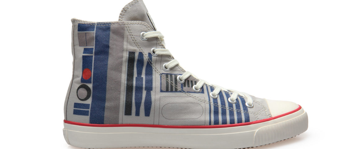Po-Zu Adds R2-D2 High Top Sneakers to Their Star Wars Footwear Collection