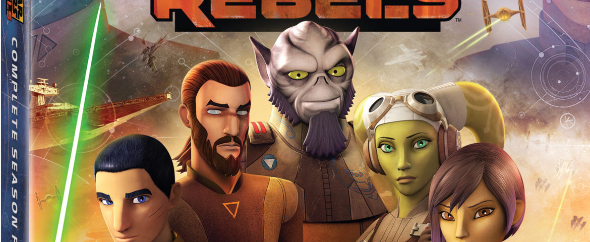 Star Wars Rebels: The Complete Fourth Season Coming to DVD/Blu-ray July 31