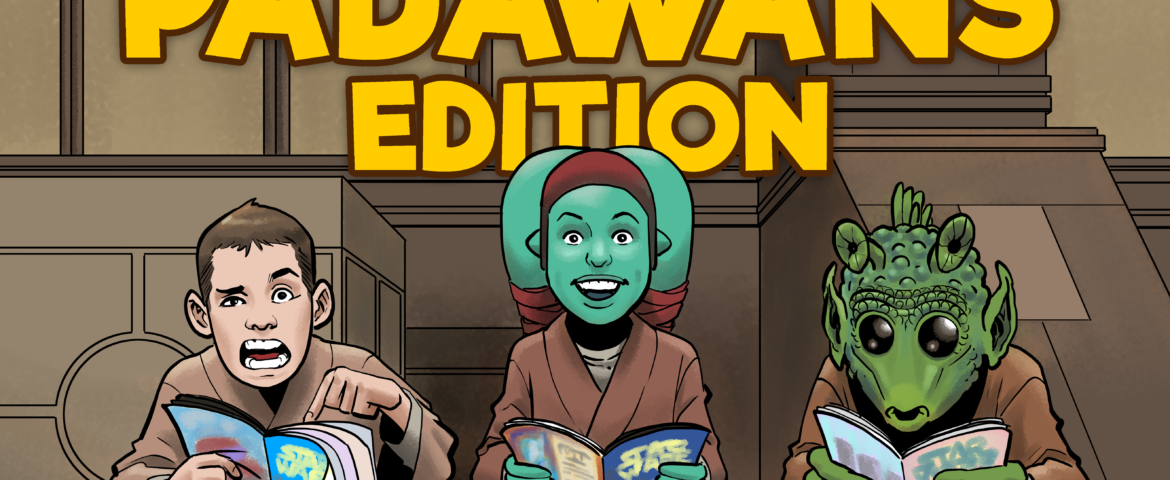 Comics With Kenobi #65.1 — Young Padawans Edition