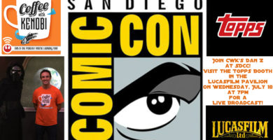 CWK Show #134: LIVE from the Topps Booth at San Diego Comic-Con
