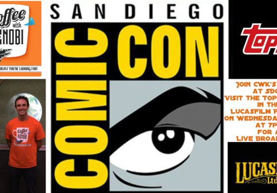 Join Coffee With Kenobi's Dan Z for a Live Broadcast at San Diego Comic-Con!