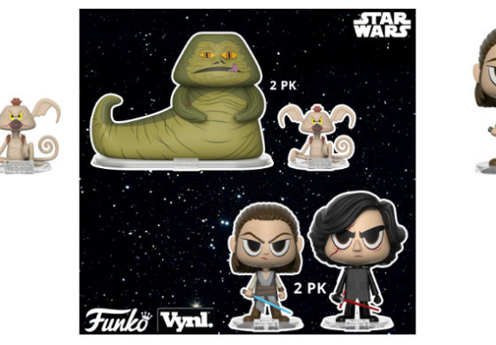 Funko Announces New Star Wars Vynl.!