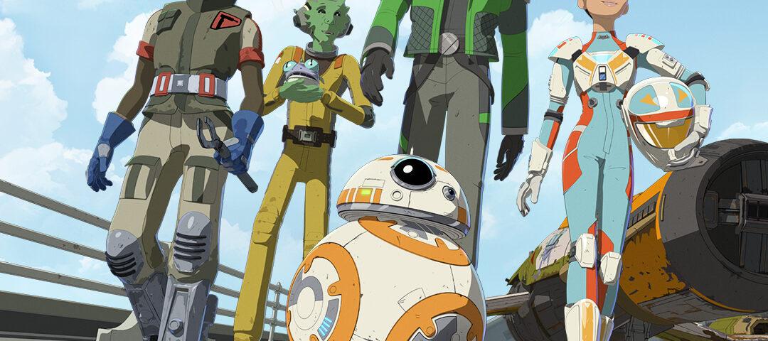 """Star Wars Resistance: """"Meet Team Fireball"""""""