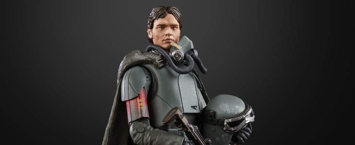Hasbro Reveals 'Star Wars' Black Series 6-inch Han Solo Mimban Figure
