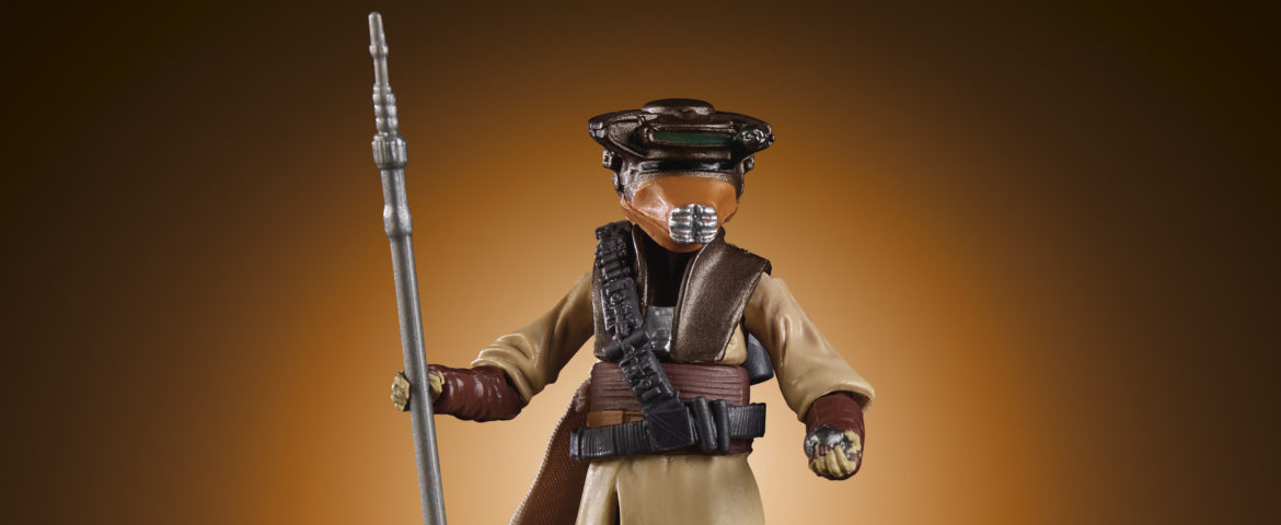 Hasbro Reveals 'Star Wars' Vintage Collection Boushh Leia Figure