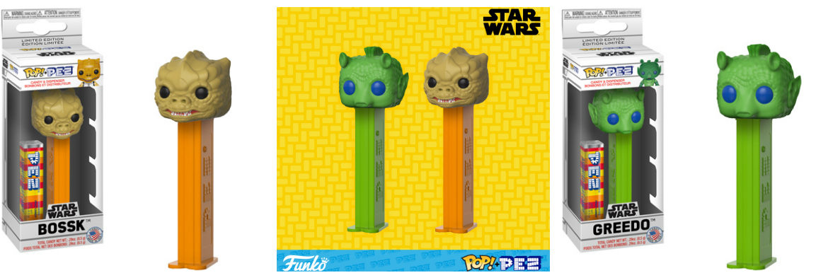 Funko Pop! Star Wars PEZ Dispensers Coming this October
