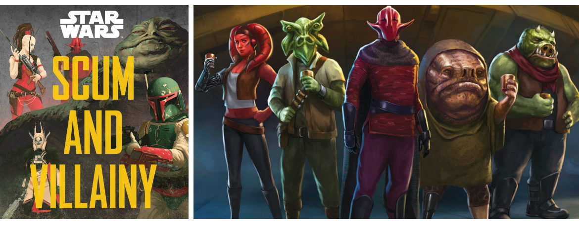 "New Book ""Star Wars Scum & Villainy"" Details Galaxy's Most Notorious Thieves, Smugglers and More"
