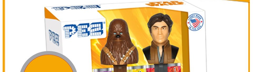 'Solo: A Star Wars Story' PEZ Dispensers Available Now