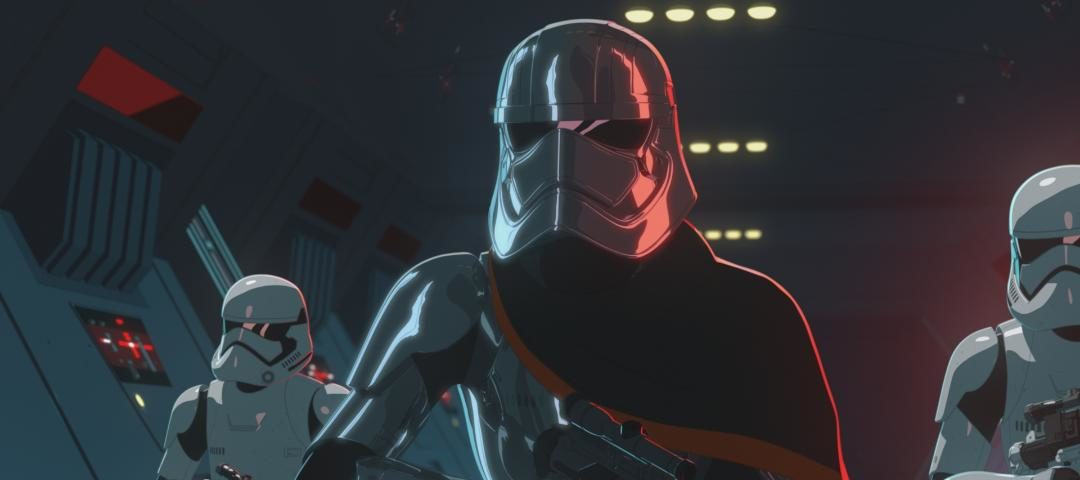 Star Wars Resistance: All-New Extended Sneak Peek, Including Captain Phasma