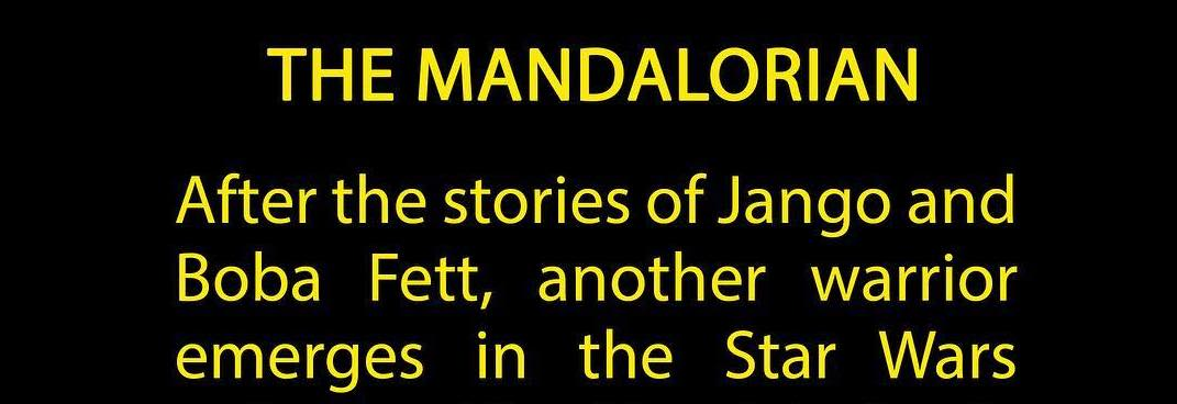 "Jon Favreau Shares Details of Star Wars Live-Action Series ""The Mandalorian"""
