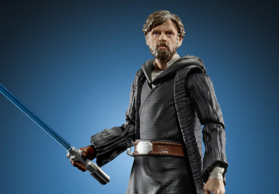 New Hasbro Star Wars NYCC Reveals, Including Vintage Collection Luke Skywalker on Crait