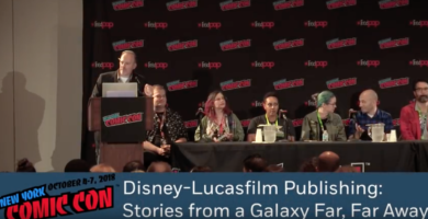 VIDEO: Complete NYCC Lucasfilm 'Star Wars' Publishing Panels