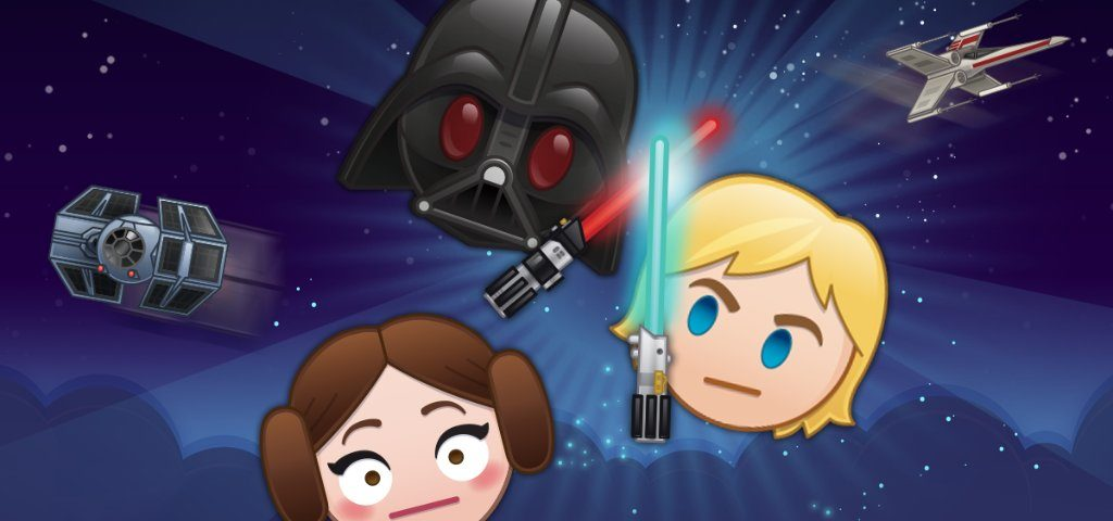 Star Wars Favorites Luke, Leia, and Darth Vader Descend on 'Disney Emoji Blitz'