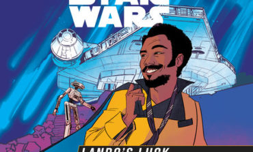 Audiobook Review: Star Wars, Lando's Luck, by Justina Ireland, Read by Soneela Nankani