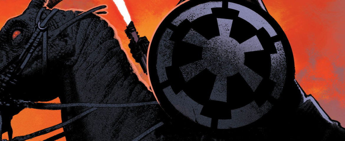 Marvel Unveils 5-Issue Star Wars Comics Mini 'Star Wars: Vader — Dark Visions'; Debuts March