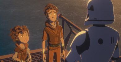 """Kaz Goes Undercover on the All-New Episode of Star Wars Resistance, """"The New Trooper"""""""