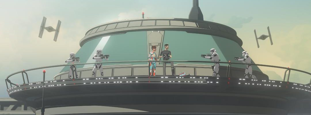 """The Future of the Colossus is at Stake on the Season One Finale Episode of Star Wars Resistance, """"No Escape, Part 2"""""""