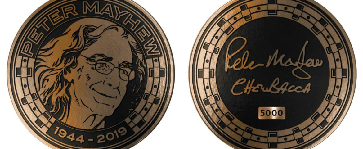 The Mayhew Foundation Releases Peter Mayhew Memorial Challenge Coin, with All Proceeds Benefitting Charitable Causes