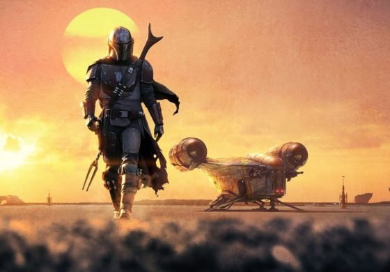 D23 Expo: Teaser Poster for Star Wars Live Action series 'The Mandalorian' Revealed