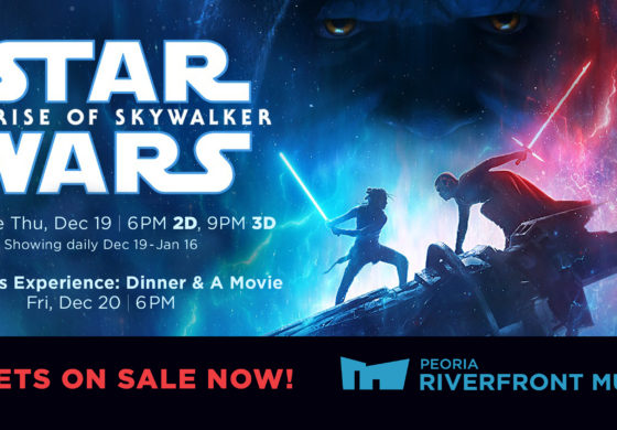 Join Coffee With Kenobi's Dan Z for the Premiere of 'Star Wars: The Rise of Skywalker' at Peoria Riverfront Museum