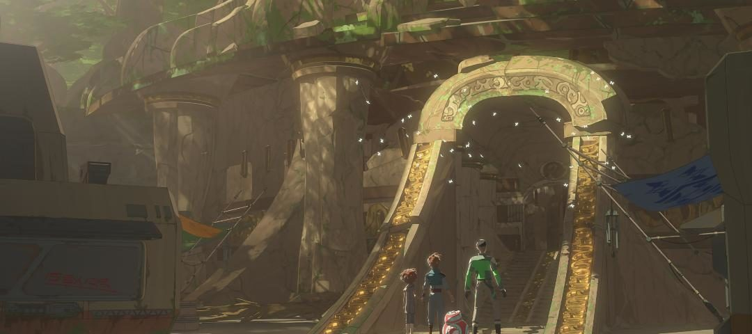"""Kaz and Friends Explore a Mysterious Planet on the All-New Episode of Star Wars Resistance, """"The Relic Raiders"""""""
